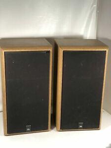 JBL 2600 Vintage Bookshelf Speakers Titanium Tweeters Wood Grain LookMade In USA