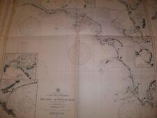 Vintage  Nautical  Maritime  Chart  (  Cape Catastrophe to Great Australia Bight
