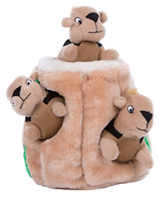 Dog Toy Hide A Squirrel Fun Hide And Seek Interactive Puzzle Plush Outward