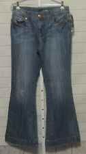 Seven 7 Studio Jeans Distressed Flare Size 6 NWT