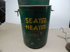 vintage ALCOHOL Camping Ice-Fishing STOVE HEATER Seater Heater