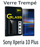 Lot/ Film Vitre Verre Trempé de Protection d'écran Pour Sony Xperia 10 PLUS