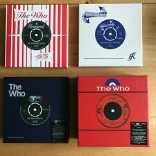 The Who Singles Box Sets - Brunswick, Reaction, Track, Polydor - Mint Unplayed
