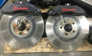 2015-2021 Mustang GT Brembo 6 Piston Caliper / Rotor Assembly SET  TAKEOFF