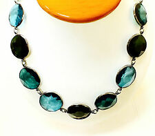 """Joan Rivers Beautiful Faceted Bead Black Finish 39"""" Necklace"""