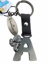 Schlüsselanhänger Schutzengel Alphabet Buchstabe A-Z  Anhänger Engel Metall