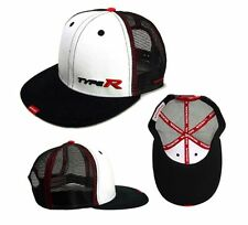 Genuine Honda Type R Black White Flat Peak Baseball Cap Civic Integra NSX EP3