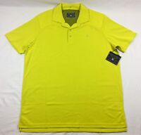 Spyder Harness Polo Shirt Mens Acid Yellow MSRP $99