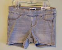 NEW Old Navy Girls SIZE 5 Stretch Waist Pull-On Denim Shorts LIGHT BLUE #21419