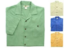 Joe Marlin Men's Big & Tall Shirts Casual Button-Down Short Sleeve Shirt