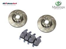 freelander 2 front brake discs and pads freelander mk2 lr007055 lr004936 06-14