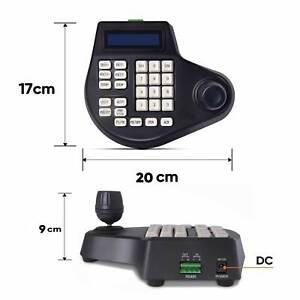 Eyes.sys CCTV PTZ Camera Joystick Keyboard Controller 2 Axis LCD Display