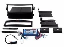 Radio Replacement Interface and Single Din Dash Mounting Kit for Nissan w/Bose