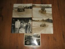 Welsh Rally vintage photographs - c.1950s,Ford? Special,reg.no.ATP 973....