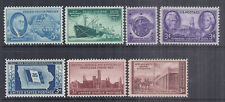 US 1946 Complete Commemorative Year Set of 7 - SC 933, 939-944 - MNH