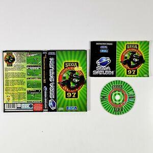 ©1996 SEGA Saturn WORLDWIDE SOCCER 97 PAL 6-Player Sport/Fussball/Liga/World Cup
