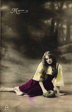 Frau, col. Foto-AK, 1905