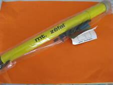 Pompa ad aria ZEFAL CLASSIC ALLUMINIO 30x380 mm Schrader/presta Giallo NUOVO