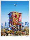 Jeff Gillette - Donald Duck's Cartoon Shack - Hand Embellished Print 3/5 Pokemon
