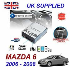 For MAZDA 6 MP3 SD USB CD AUX Input Audio Digital CD Changer & charger Module