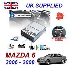 für Mazda 6 2002- 09 MP3 SD USB CD AUX Eingang Audio Digital CD-Wechsler Modul