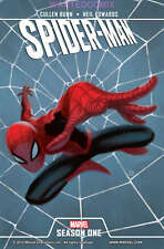SPIDER-MAN SEASON ONE DELUXE HARD COVER AVENGING ORIGIN RETOLD FREE SHIPPING 1