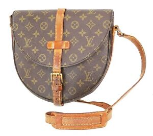 Authentic LOUIS VUITTON Chantilly GM Monogram Canvas Shoulder Bag #38617
