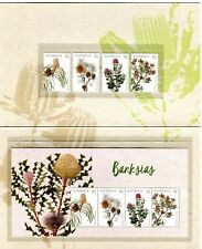 2018 Banksias - Post Office Pack With Stamps & Mini Sheet