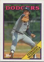 Fernando Valenzuela 1988 Topps Baseball Card #780 Los Angeles Dodgers