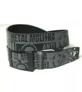 "Metal Mulisha Busted Belt Small (28-32"")  Black"