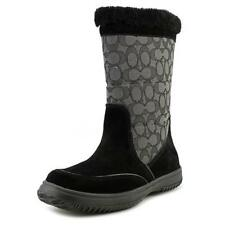 Botas de mujer de nieve Coach color principal negro