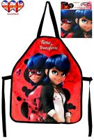 Miraculous Ladybug Apron,Children Apron,Officially Licensed.