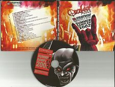 2002 PROMO CD w/ OZZY OBOURNE LIVE & MESHUGGAH DEMO w/ SYSTEM OF A DOWN Chevelle
