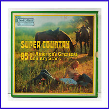 Super Country 85 Greatest Country Stars 7 LP Box Set Reader's Digest RDA-252-A