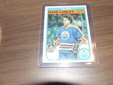 1982-83 O-Pee-Chee Dave Lumley #114