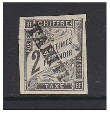 TAHITI - 1893,2c NOIR frais d' ENVOI A CAUSE DE TAMPON - Excellent état no gum -