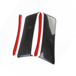 Rear Side Fender Door Scoops fit for Ford Mustang 2015-17 the Carbon Fiber Style