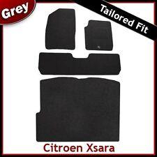 CITROEN XSARA PICASSO 2000-2010 Tailored Carpet Car & Boot Mats GREY