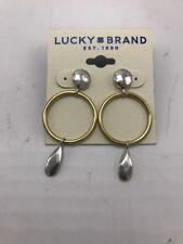 Earrings Two-Tone drop 220 $29 Lucky Brand Women's Circle