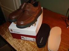 Hushpuppies Gil Tan Leather Diabetic Shoes H18801 Size 7 BRAND NEW With Inserts