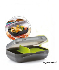 TUPPERWARE Divided Lunch Meal Box Special Offer see movie