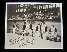 signed 8x10 photo Roberto Clemente & Willie Stargell, reprint