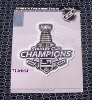 Official 2014 Stanley Cup Final Finals Champs Champions Patch Los Angeles Kings