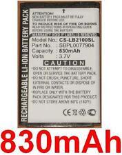 Batterie 830mAh type SBPL0077904 Pour LG B2100