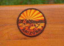 "Arizona Sunset Sunrise 3 1/8"" Embroidered Patch"