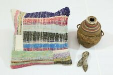 Handmade Cushion Cover 19x19 Inch. One-of-a-Kind Authentic Turkish Pillow Case