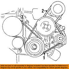 HYUNDAI OEM 96-06 Elantra-Alternator Belt 2521223021