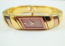Lassale by Seiko Gold Tone Base Metal 2E20-3021 Sample Watch NON-WORKING