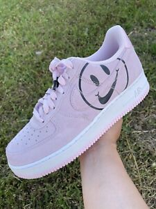 NEW Nike Air Force 1 Low Have A Nike Day Pink Smile BQ9044-600 Sz 8 B-Grade