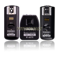 Yongnuo RF602 Flash Trigger for Nikon D70s D80 DSLR Camera with 2 Receivers
